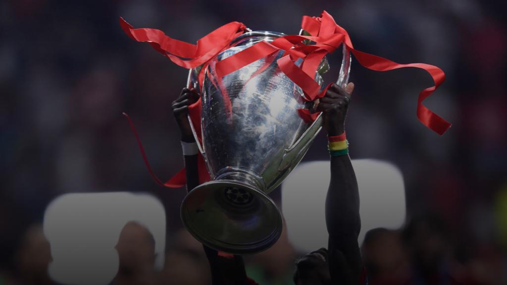 Imagen de fondo la Champions League